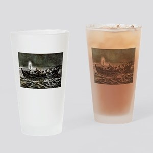 Christ walking on the sea - 1907 Drinking Glass