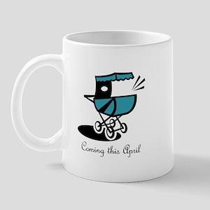 Coming This April Mug