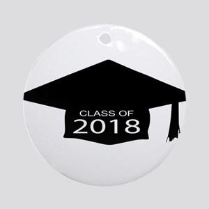 Class of 2018 Round Ornament
