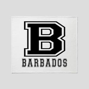 Barbados Designs Throw Blanket