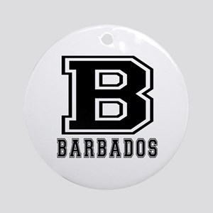 Barbados Designs Ornament (Round)
