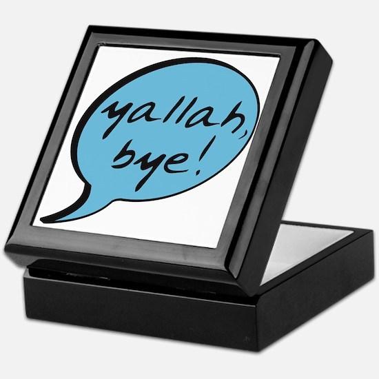 Yallah Bye Keepsake Box