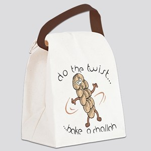 Do The Twist-Dancing Challah Canvas Lunch Bag