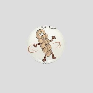 Do The Twist-Dancing Challah Mini Button