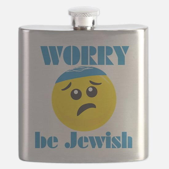 Worry-beJewish Flask