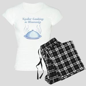 KosherCooking-WHITE Women's Light Pajamas