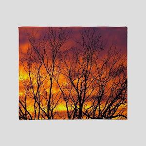 Sunrise Glory Throw Blanket