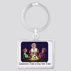 Learning Time All Time Landscape Keychain