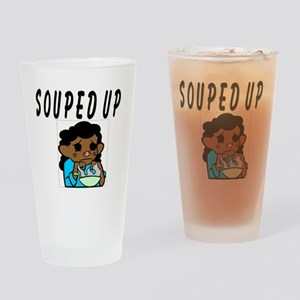 Souped Up Drinking Glass