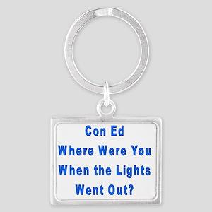 Con Ed Lights Landscape Keychain