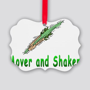 Mover and Shaker Picture Ornament