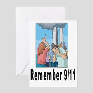 Remember 911 Greeting Card