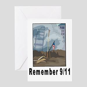 Remember 9/11 2 Greeting Card