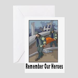 Remember Heroes Greeting Card