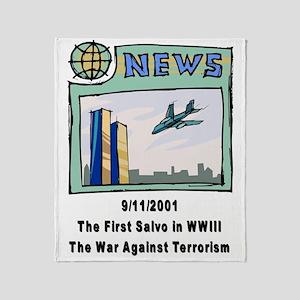 WW3 Throw Blanket