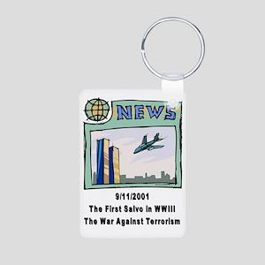 WW3 Aluminum Photo Keychain