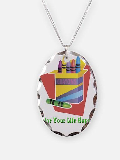 Color Life Happy Necklace