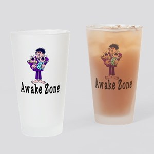 Awake Zone Drinking Glass