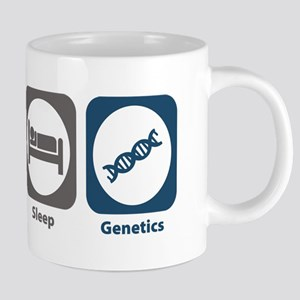 Eat Sleep Genetics Mugs