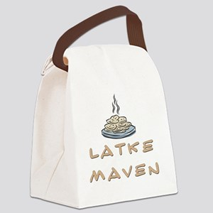 Latke maven Canvas Lunch Bag