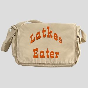 Latkes Eater 4 Messenger Bag
