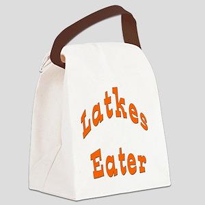 Latkes Eater 4 Canvas Lunch Bag