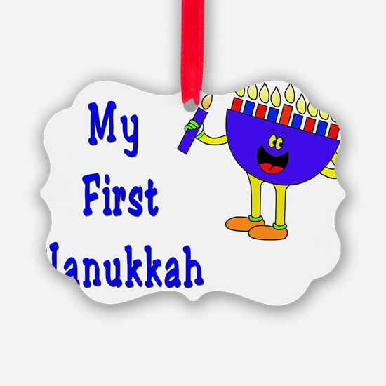 My First Hanukkah Ornament