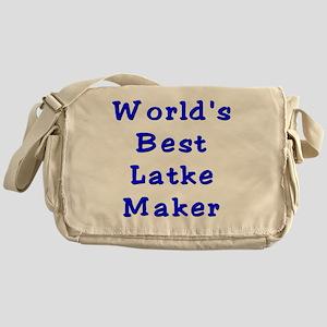 Worlds Best Latke Maker Messenger Bag