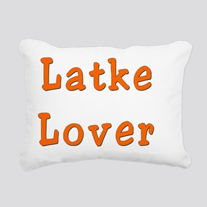 Latke lover 1 Rectangular Canvas Pillow
