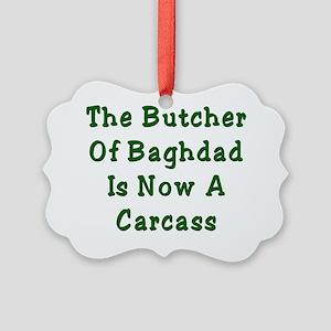 Hussein 2 Picture Ornament