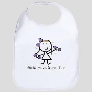 Exercise - Girls Guns Bib