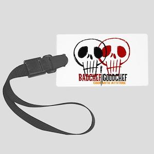 BadChef GoodChef Logo Luggage Tag