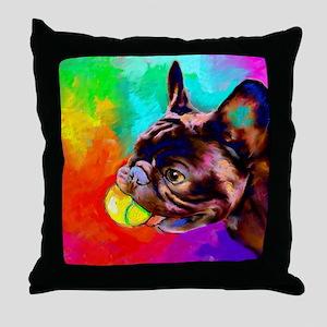 French Bulldog 6 Throw Pillow