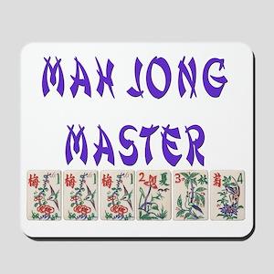 mah jong master Mousepad