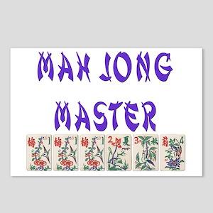 mah jong master Postcards (Package of 8)