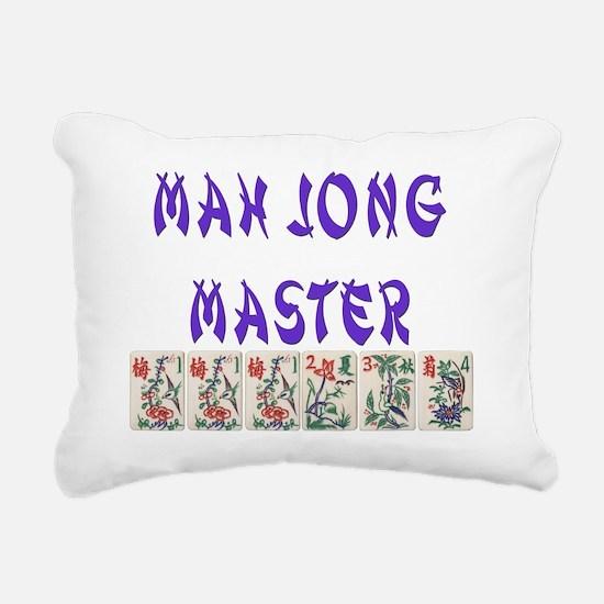 mah jong master Rectangular Canvas Pillow