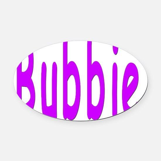 Bubbie Oval Car Magnet