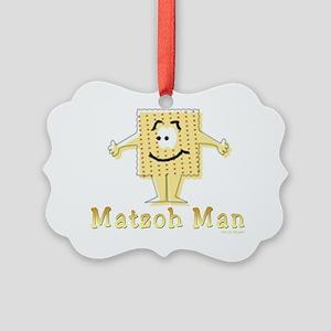 3-MAtzoh Man 2 flat Picture Ornament
