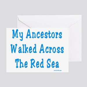 Red Sea2 Greeting Card