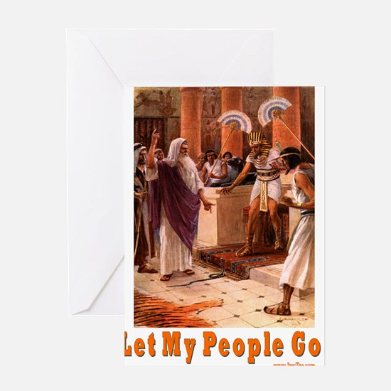 Let My People Go Greeting Card