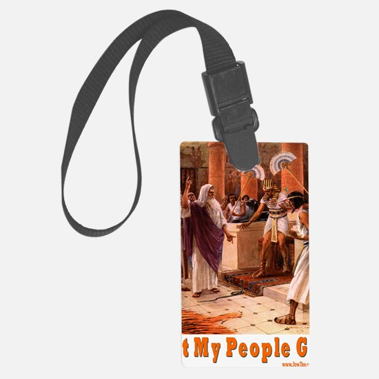 Let My People Go Large Luggage Tag