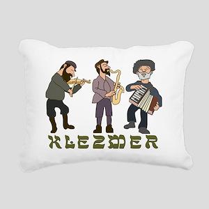 Klezmer2 Rectangular Canvas Pillow