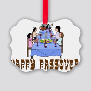 Happy Passover Picture Ornament