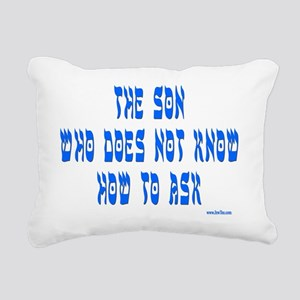 Son WHo Does Not Know 2 Rectangular Canvas Pillow