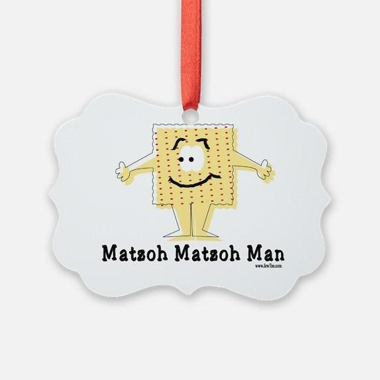MAtzoh Matzoh Man Ornament