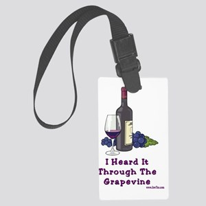 Grapevine2 Large Luggage Tag