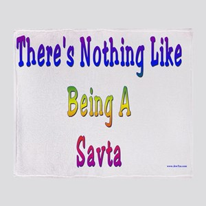 Nothing like Savta Throw Blanket