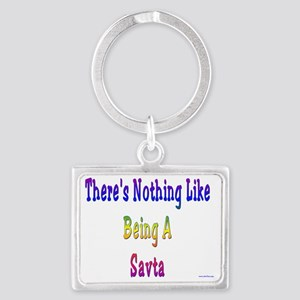 Nothing like Savta Landscape Keychain