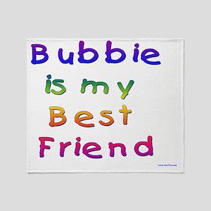 Bubbie Best Friend Throw Blanket