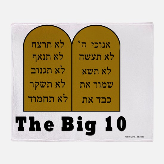 Big 10 Throw Blanket